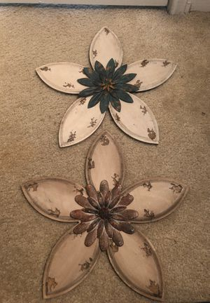 Flower wall decorations for Sale in Nashville, TN