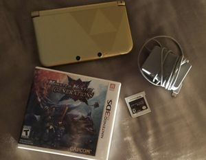 Nintendo 3DS, Two Games, and Charger for Sale in Lakeland, FL