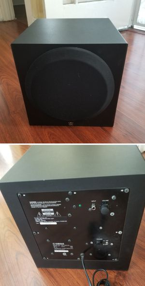 Yamaha powered subwoofer speaker 10 inch for Sale in Long Beach, CA
