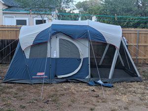 Coleman Weathermaster tent 6person for Sale in Colorado Springs, CO