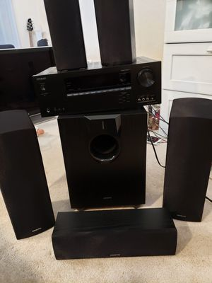 Onkyo HT-S5800 Dolby Atmos for Sale in Kent, WA