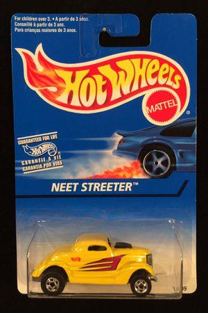 Hot Wheels Neet Streeter 1996 Collector #526 Yellow w/BW 5 Spoke INDIA Base for Sale in Keller, TX