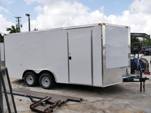 8.5 x 16 Enclosed Trailer for Sale in Fort Lauderdale, FL