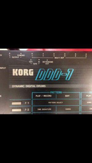 Korg DDD-1 Dynamic Digital Drums Rhythm Programmer for Sale in Miami, FL