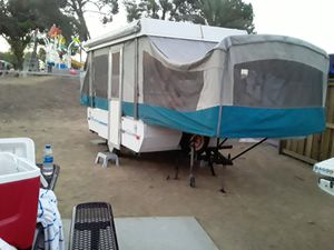 POP-UP TENT TRAILER for Sale in Wildomar, CA