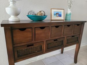 Console table for Sale in SIENNA PLANT, TX
