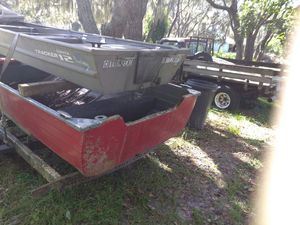 16' deep v aluminum boat for Sale in Hudson, FL