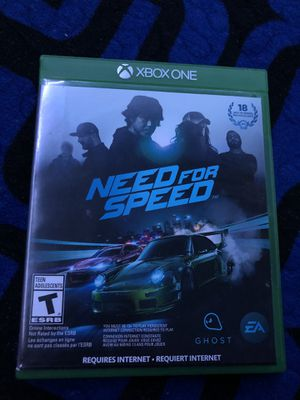 XBOX ONE NEED FOR SPEED for Sale in Colton, CA