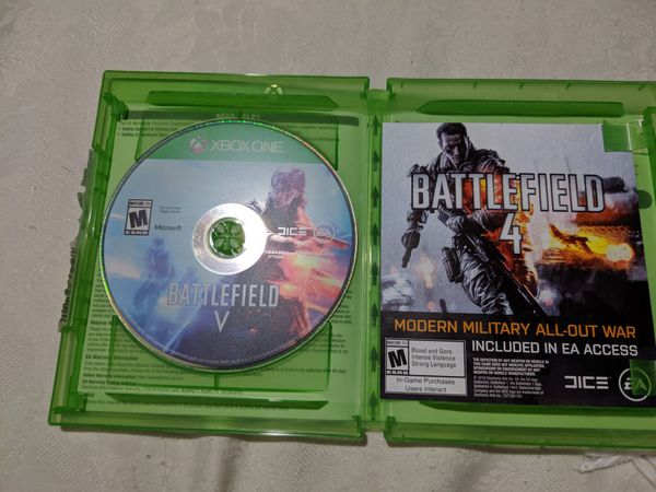Battlefield v for the Xbox one