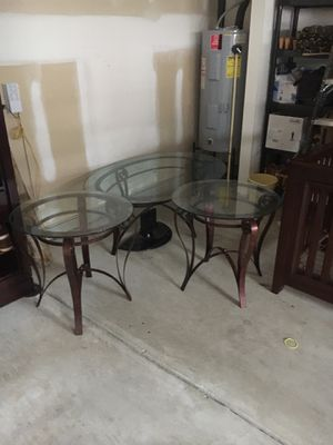 Coffee Table Set for Sale in Knightdale, NC