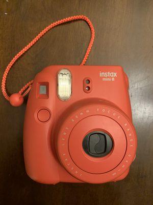 Fujifilm Instax Mini 8 Instant Camera, Raspberry for Sale in Pico Rivera, CA