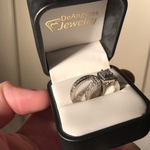 Engagement Ring + Wedding Band for Sale in Modesto, CA