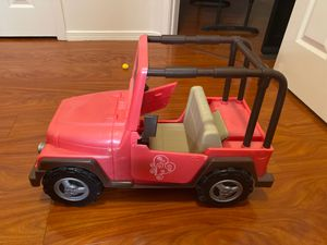 american girl jeep for Sale in Albuquerque, NM