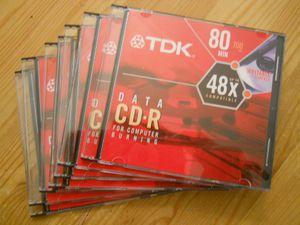 7 TDK CD-R disks for computer burning, brand new for Sale in Morgantown, WV
