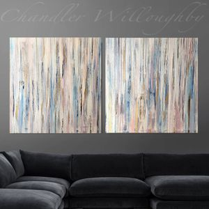 Modern abstract contemporary art custom original canvas framed ready to hang for Sale in Phoenix, AZ