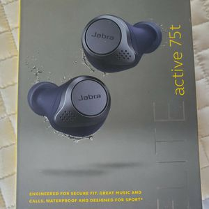 $130 JABRA GN ELITE 75T WIRELESS EARBUDS for Sale in North Las Vegas, NV