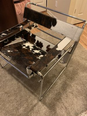 Handmade in Italy. Cowhide chair. It's very unique and different brand new for Sale in Gallatin, TN