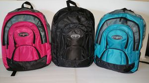 Brand NEW! Regular Size Backpacks For School/Traveling/Everyday Use/Hiking/Biking/Work/Fishing/Gifts $11 EACH! for Sale in Carson, CA