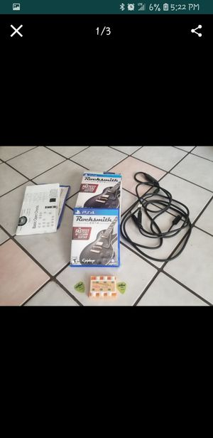 PS4 Rocksmith 2014 Bundle for Sale in Seminole, FL