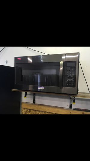 NEW!!! GE PROFILE (BLACK STAINLESS STEEL) OVER THE RANGE MICROWAVE!!! for Sale in Los Angeles, CA