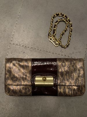 Coach Leopard Bag/Clutch for Sale in Oceanside, CA