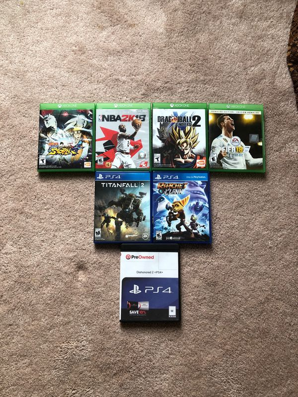 Xbox one /Ps4 games for sale