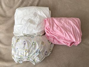3 Girl Crib Sheets for Sale in San Diego, CA