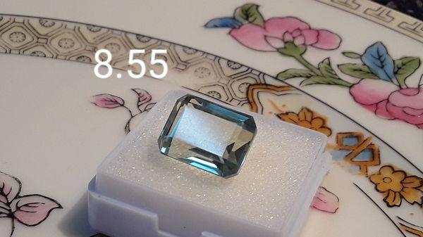 8.55 carat loose Aquamarine