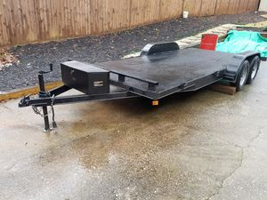 2020 Car trailer Toy hauler Equipment trailer 18' for Sale in Lawrenceville, GA