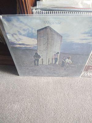 The Who- Who's Next vinyl for Sale in West Jordan, UT