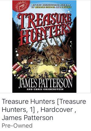 Treasure hunters hard cover book for Sale in Corona, CA