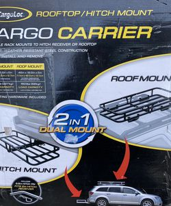"""Brand new Cargo carrier 2 in 1 dual mount 48"""" x 19.5"""" for Sale in Salt Lake City,  UT"""