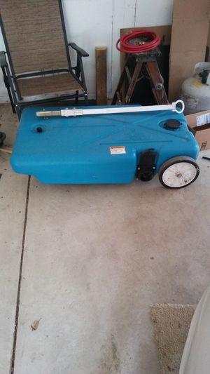 42 Gallon Barker Portable RV Septic Tank for Sale in Fowlerville, MI