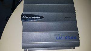 Pioneer bridgeable 4-channel power amplifier Kenwood deck KDC-105u for Sale in Gresham, OR