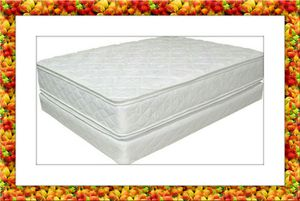 King Double pillowtop mattress with split box spring free delivery for Sale in Crofton, MD