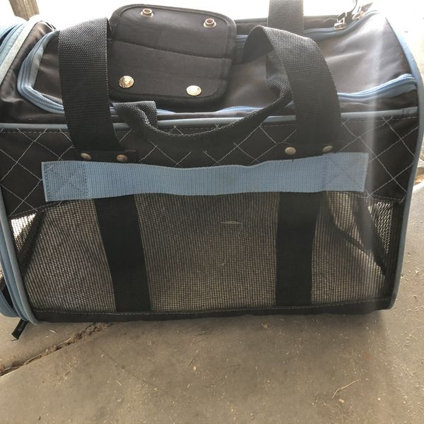 Dog Carrier Mesh Has Small Hole See Pics