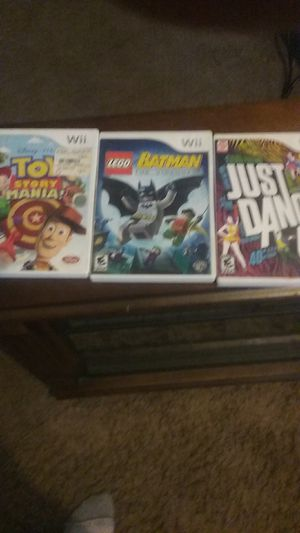 WII GAMES for Sale in Fort Wayne, IN