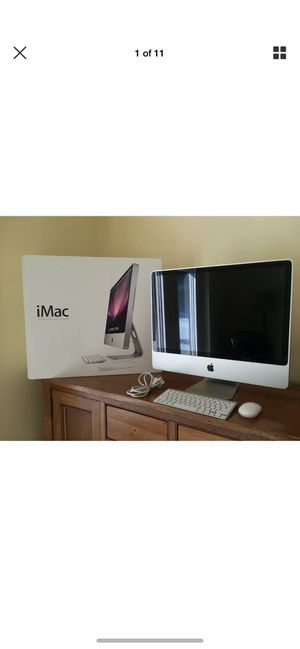All in one system Apple iMac with brand new wireless mouse and keyboard for Sale in Modesto, CA