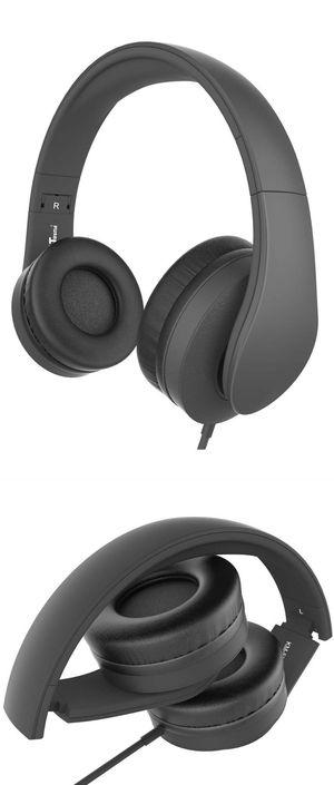 JNT DJ Stereo Headphones w Microphone Foldable for Sale in Boca Raton, FL