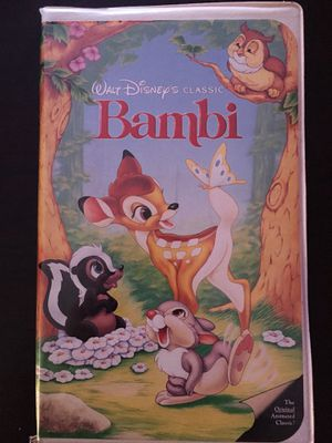 Bambi VHS tape for Sale in Pasco, WA