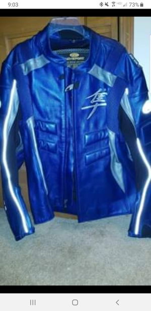 Suzuki hayabusa motorcycle jacket for Sale in Hiram, GA