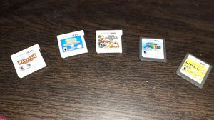 DS and 3DS games rayman ,pokemome,super smash bros,mario,and,walle for Sale in Modesto, CA