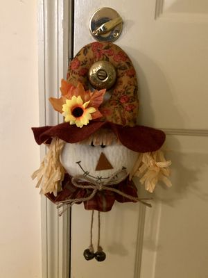 Fall Scarecrow Door Hanger for Sale in St. Louis, MO