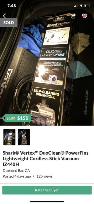Dyson vacuum cleaner v10 cyclone for Sale in Diamond Bar, CA