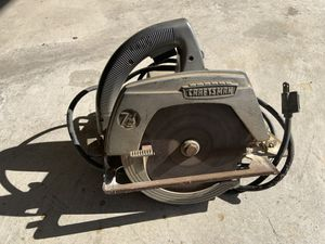 Vintage Craftsman Circular Saw for Sale in Lorain, OH