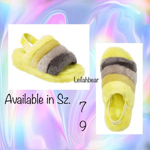 Brand New UGG Fluff Slides Sz. 7 & 9 for Sale in Houston, TX