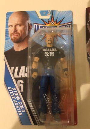 Stone Cold Steve Austin WrestleMania Figure for Sale in Fairfax, VA