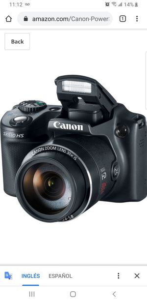 Wi Fi Canon SX510 HS like brand new for Sale in Arlington, TX