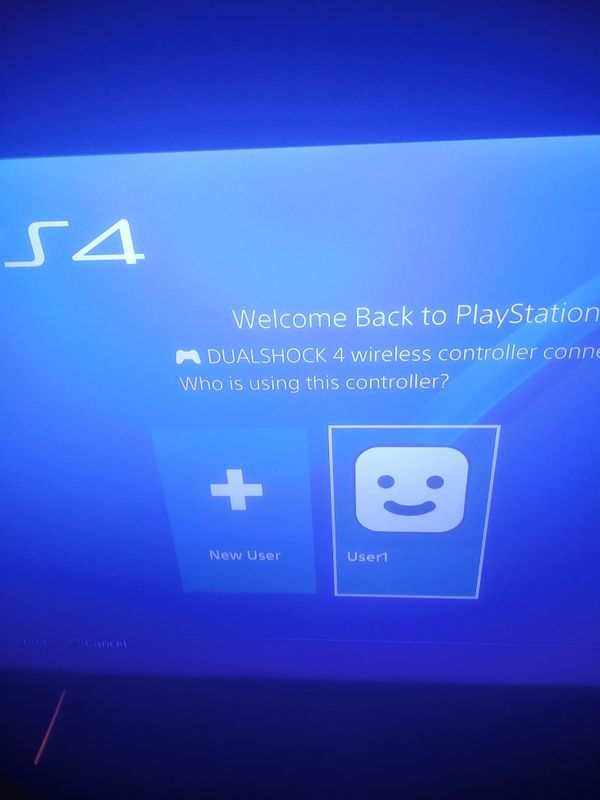 PlayStation 4 Pro with games and controller