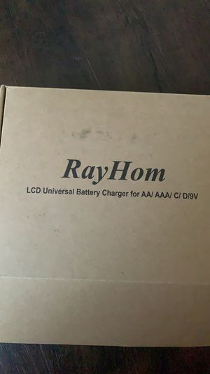 Universal Charger with D Batteries for Sale in San Jose, CA